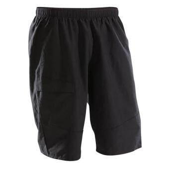 กางเกงปั่นจักรยานเสือภูเขาขาสั้น กางเกงปั่นจักรยานขาสั้น กางเกงปั่นจักรยาน คุณภาพสูง (สีดำ) ช่วยดูดซับแรง กระแทก และลดการเสียดสี กางเกงกีฬา จักรยานเสือภูเขา จักรยาน