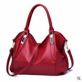 อยากขาย กระเป๋าถือ + สะพาย QUILLA Premium Bags Collection (สีไวน์แดง)