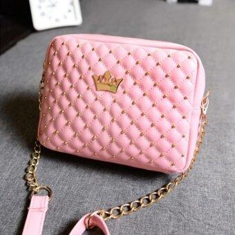 กระเป๋า กระเป๋าสะพาย กระเป๋าสะพายพาดลำตัว Women Shoulderbag - Pink