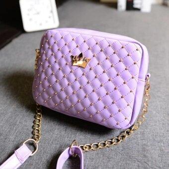 กระเป๋า กระเป๋าสะพาย กระเป๋าสะพายพาดลำตัว Women Shoulderbag - Purple