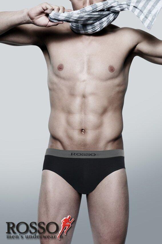 ROSSO กางเกงใน (สีดำ)