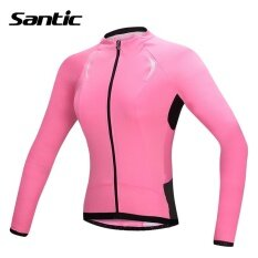Santic Women Long Sleeve Cycling Jersey Women Roupa Ciclismo Anti-UV Breathable DH Downhill MTB Road Bike Jersey Top Shirt Clothes - intl