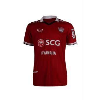 แกรนด์สปอร์ตเสื้อฟุตบอลสโมสร SCGเมืองทอง 2017 (สีแดง)
