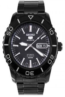 Seiko นาฬิกข้อมือ สีดำ สายสเเตนเลส รุ่น SNZH59K1