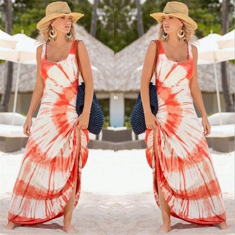 Sexy Women's Summer Casual Sleeveless Evening Party Beach Dress Short Dress(Not Specified) - intl