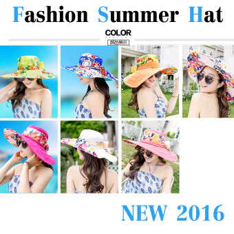 shop108 UV Fashion Summer Hat หมวกกันแดดแฟชั่นเกาหลี- Classic Style