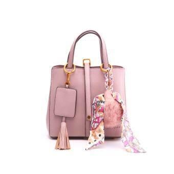 ต้องการขาย กระเป๋าสะพายแฟชั่น BAG17046R15SS-สีม่วง