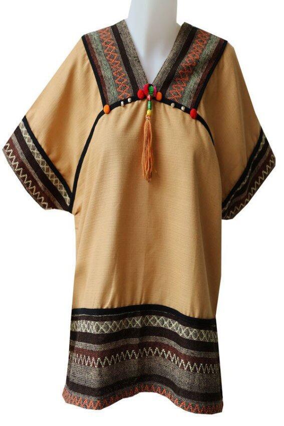Sita Cotton เสื้อผ้าฝ้ายแม้ว#3 (สีน้ำตาล)