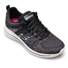 SKECHERS WOMEN รองเท้าผ้าใบ ผู้หญิง รุ่น BURST 2.0 - 12651BKGY (BLACK/GREY)