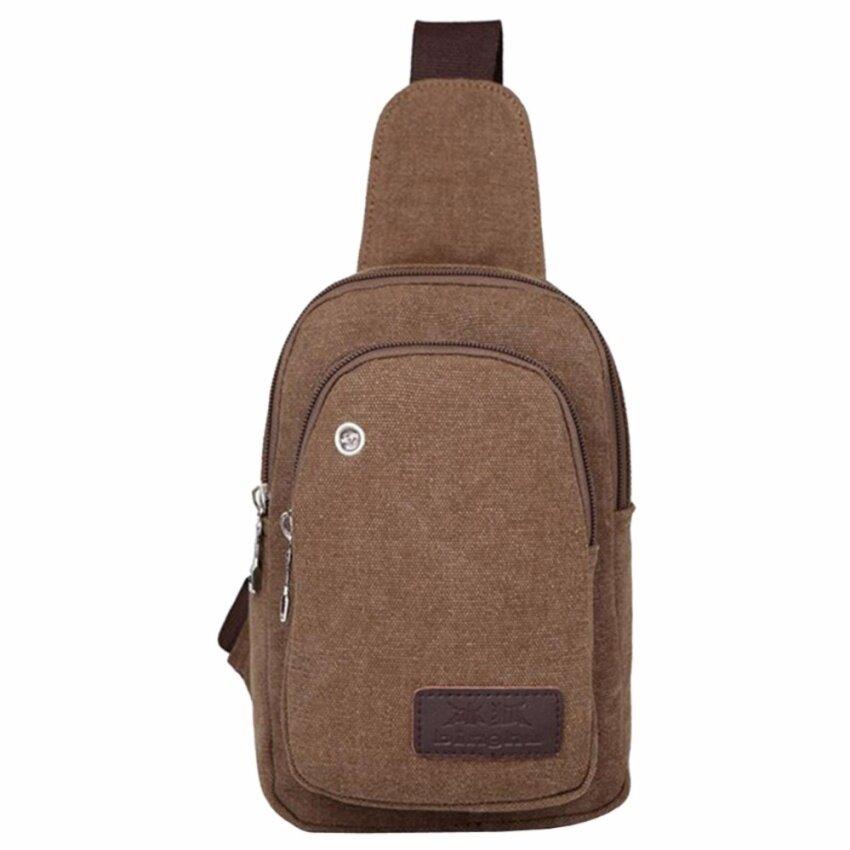 Smart Choices กระเป๋าสะพายไหล่ สำหรับสุภาพบุรุษ รุ่น M3-020 สีน้ำตาลเข้ม สไตล์เกาหลี MB-0314 *