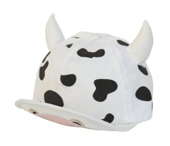 Smile YKK Girls Boys Kid Patterned Horn Baseball Cap Sunproof Hat White I - intl