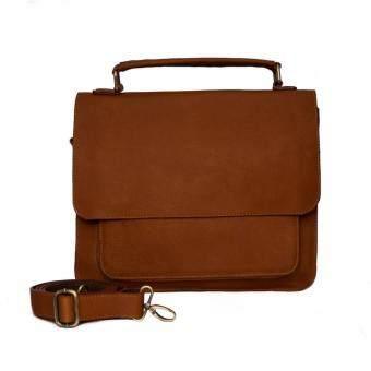 กระเป๋าสะพายข้าง กระเป๋าถือ กระเป๋าใส่เอกสาร แล็ปท๊อปขนาด 14 นิ้ว หนังแท้ รุ่น MA10A02