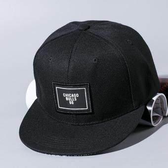 แฟชั่นหมวกเบสบอล Snapback ปรับได้สำหรับบุรุษสีดำ (image 3)