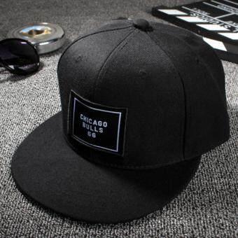 แฟชั่นหมวกเบสบอล Snapback ปรับได้สำหรับบุรุษสีดำ (image 2)