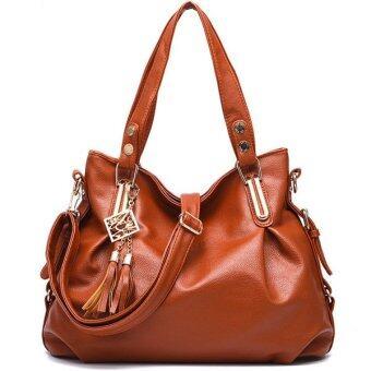 ขอเสนอ กระเป๋าสะพายไหล่ สไตล์เกาหลี รุ่น BP4103 (สีน้ำตาล)