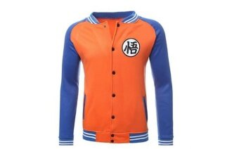 Harga Spring and autumn men's animation Baseball Jacket seven dragon balljacket coat (orange) - intl