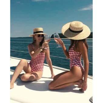 หมวกโบสเตอร์ หมวกปีก หมวกสานปีกกว้าง หมวกสาน summer beach hat sun hat floppy wide-brimmed hat fashion 2018
