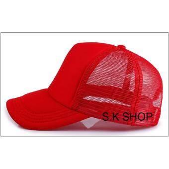 Summer Classic Cap สีแดงทั้งใบ