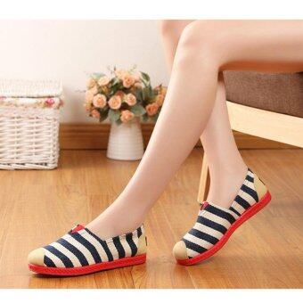 SUN Casual Flat Shoes Slip-ons รองเท้าผู้หญิง รองเท้าแฟชั่น รุ่น H-16