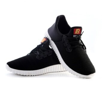 Harga SUN New Sport casual shoes รองเท้าผ้าใบ รองเท้าผ้าใบผู้ชายรองเท้าแฟชั่น Y17 (Black)