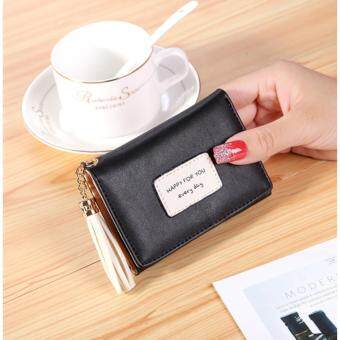 super fashion Purse Japan and South Korea wallet tassel