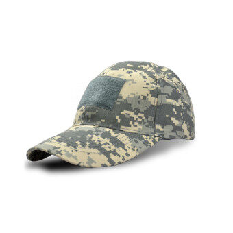 Tactical Military Cap Camouflage Army Cap Combat Outdoor Sports Climbing Camping Hat ACU - Intl