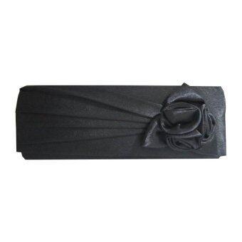 สนใจซื้อ TANITTgems กระเป๋าถือ คลัทช์สำหรับออกงานClutch Bag-Black