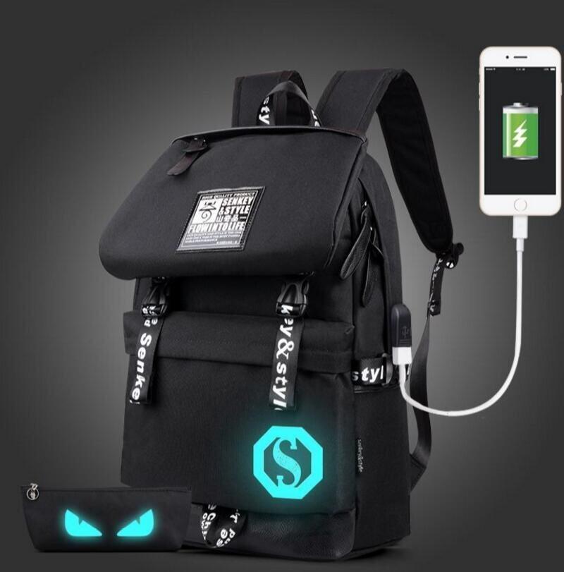 ขาย 2017 Fashion Noctilucent Men Chest Pack Messenger Bag (Blue) - intl