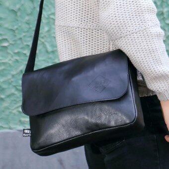 กระเป๋าสะพายข้าง เทรนด์เกาหลี รุ่น 3513 (สีดำ)
