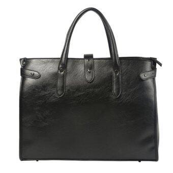 Tokyo Boy กระเป๋าสะพายไหล่ผู้ชาย หรือถือ หนัง PU รุ่น NG265 - สีดำ