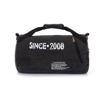 โปรโมชั่นพิเศษ Tokyoboy กระเป๋าสะพายข้างหรือถือผ้า Canvas ใส่Notebook ได้ รุ่น TK24 - สีดำ
