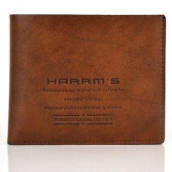 Harga TOP CLASS กระเป๋าสตางค์ Harrm's Collection B1244 - Brown