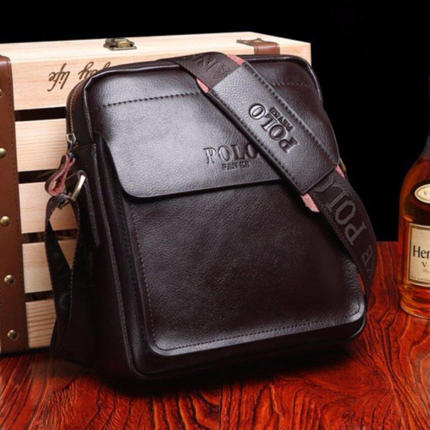 TOP CLASS กระเป๋าสะพาย กระเป๋าไอแพ็ต กระเป๋าเอกสาร Polo Fanke 152X (สีกาแฟ) Coffee