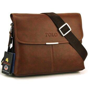 รีวิวพันทิป กระเป๋าสะพาย กระเป๋าผู้ชาย POLO VIDENG - Brown