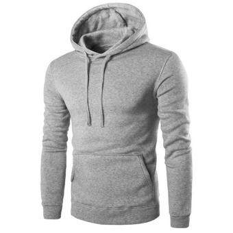 UINN Men's Hoodie Sweat Shirt Casual Jacket Coat Top M L XL XXL Sport Hoody - intl