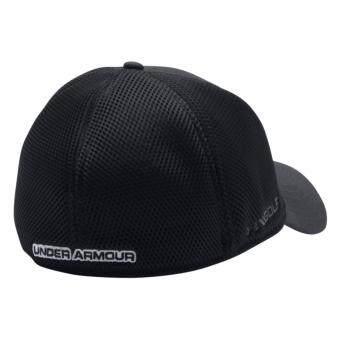 Under Armour หมวกกอล์ฟ Under Armour Men's Mesh Stretch 2.0 Golf Hat 1273280-001 (Black) - 3
