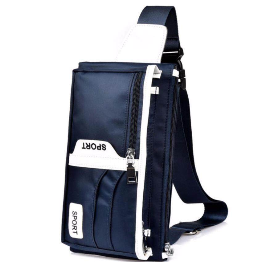 Upper กระเป๋าคาดอด คาดเอว ผู้ชาย ผู้หญิง รุ่น UP51 (สีน้ำเงิน)