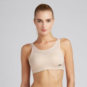 Wacoal Motion wear Sport bra (สีเบจ/BEIGE)- WR1501BE