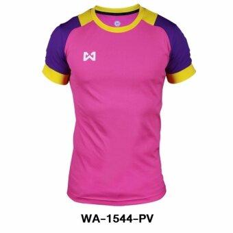WARRIX เสื้อ WA-1544-PV (สีชมพู-ม่วง)