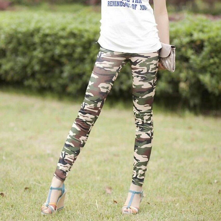 Wild fashion camouflage pants leggings - intl