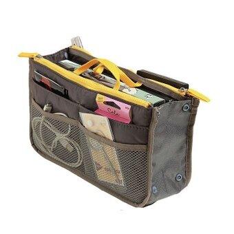 ประกาศขาย WINS Bag in bag กระเป๋าจัดระเบียบของในกระเป๋าถือ (สีเทา)