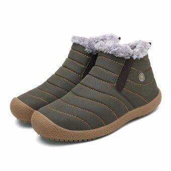รองเท้ากันหนาวลุยหิมะ WINTER SHOES (สีเทา)