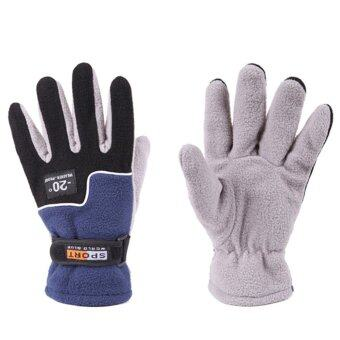 Harga Winter Warm Full Finger Gloves - intl