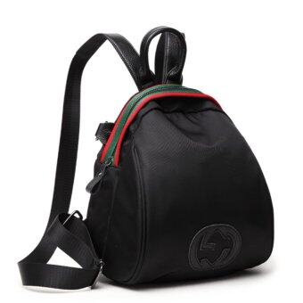 Wonderful story กระเป๋าเป้สะพายหลัง กระเป๋าสะพายหลังผู้หญิง backpack women (black)