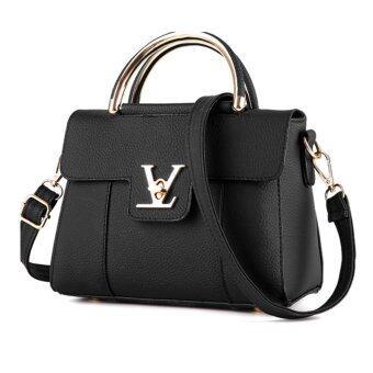 Wonderful story กระเป๋าสะพายข้าง กระเป๋าเป้ผ้าไนลอน V2- (Black)