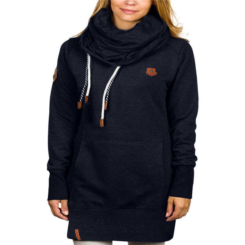 ZANZEA Fashion Women Hoodies Long Sleeve Hoodies Coat Winter Long Coat - intl