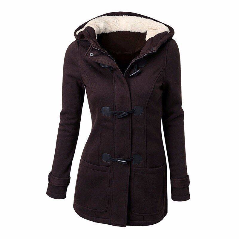 ขาย ZANZEA Long Sleeve Sweatshirts Zipper Pockets New Winter Fall Women Jacket Coat Fleece Hooded Overcoats Casual Slim Outwear Coffee - intl