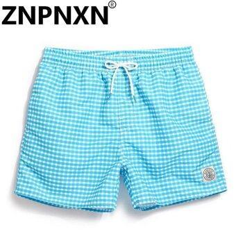 ZNPNXN Fashion Men Beach Board Shorts Boardshorts Men's Short Bottoms Summer Swimwear Swimsuits Quick Drying Shorts Casual New - intl