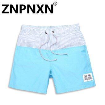 ZNPNXN Fashion Men Beach Shorts Casual polyester Man Boardshorts Swimwear Swimsuit Boxer Trunks for Mens Bermuda Quick Drying - intl