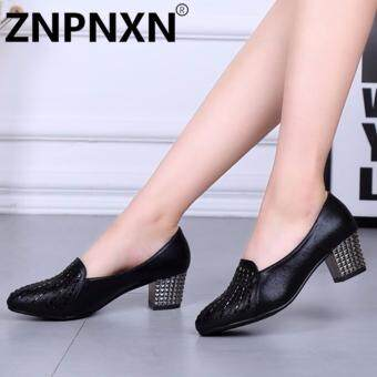 ZNPNXN Fashion New Shallow Shoes Ladies With Dance Shoes(Black) - intl